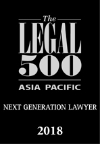 New Zealand Law Firm Legal 500 Next Generation Lawyer 2018-669
