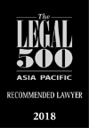 Legal 500 Recommended Lawyer 2018-730
