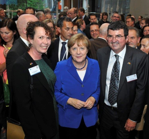 Erich Bachmann and Chancellor Angela Merkel-252
